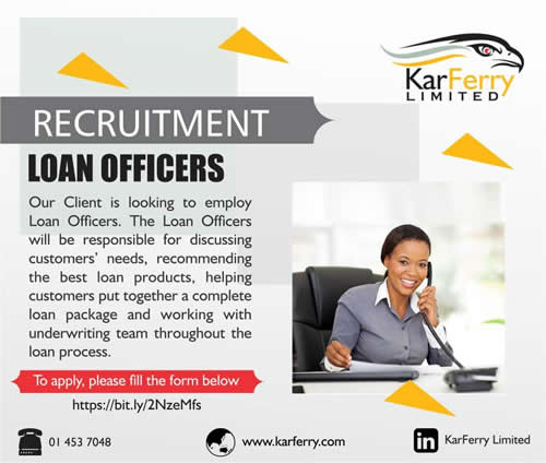 Relationship Officer at Karferry Limited