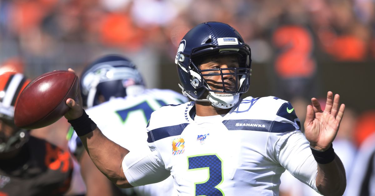 Wilson's 3 TDs lead Seahawks' rally past Mayfield, Browns